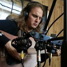 Recording Empty Promises at Castle Amber Studios