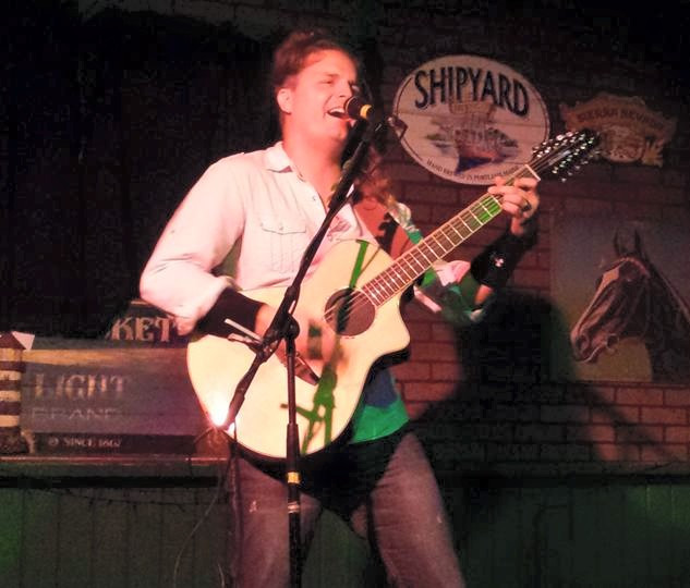 Performing at Tir na Nog Daytona Beach, FL