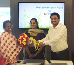 Welcome Dr.Selvi Rajan - Advisor