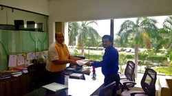 Agreement Signed - NeXHS and IITM RP
