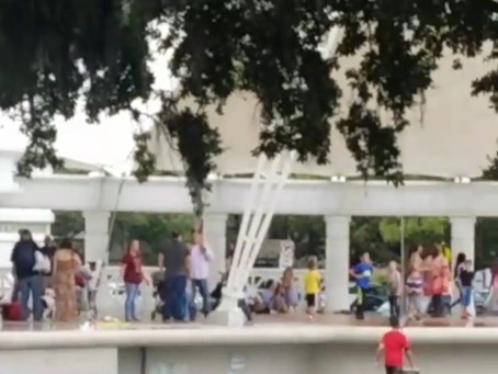 Sidewalk Science Center saves the (rainy) day