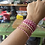 Thumbnail: ♻ Electrical Wire Breast Cancer Awareness Stretch Bracelets