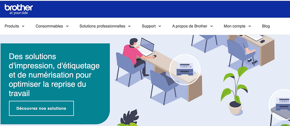 Brother France, une PME au service des PME.