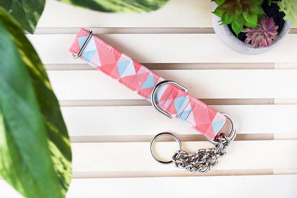 Pink Spring Dog Collar