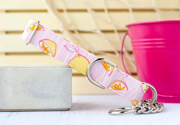Pink Lemonade Dog Collar