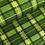 Thumbnail: Green Plaid Dog Collar