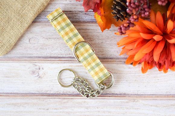 Yellow Harvest Dog Collar