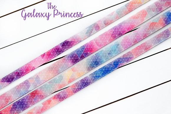 Galaxy Princess Dog Collar