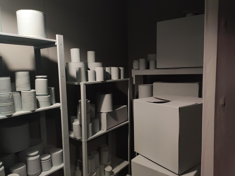 Secret Room, Hidey Hole, 2020. RSA New Contemporaries 2020, Royal Scottish Academy, Edinburgh.Paint supplied by Earthborn Paints