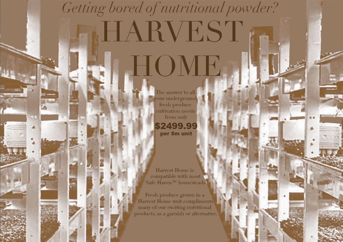 Safe Haven [consume]: Harvest Home, 2017. Edinburgh College of Art.