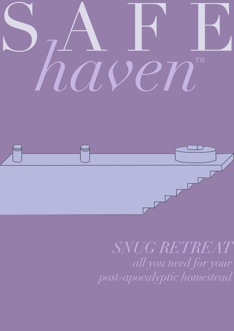 Safe Haven [consume], 2017. Edinburgh College of Art.