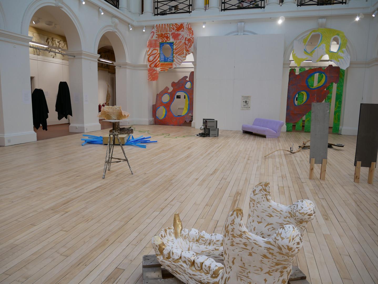 Safe Haven Settlement,2019. 5, 4, 3, 2, 1. Edinburgh College of Art.