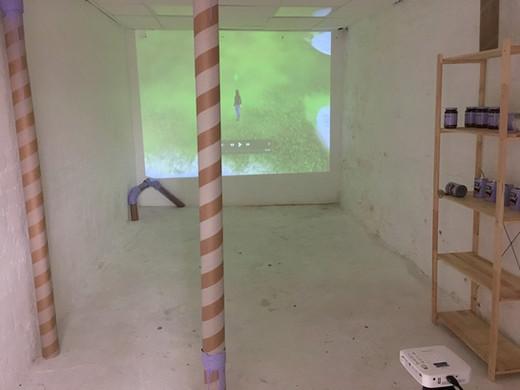 Safe Haven Project Space, 2018. Edinburgh College of Art.