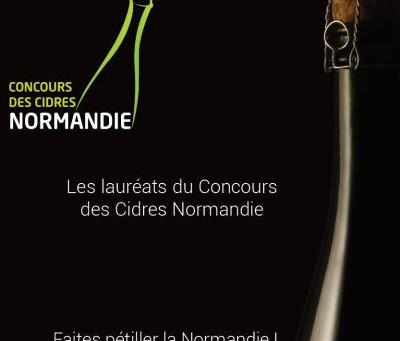 Médaillés du concours des cidres de Normandie !
