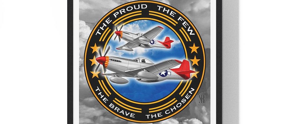 Tuskegee Airmen /Premium Framed Print