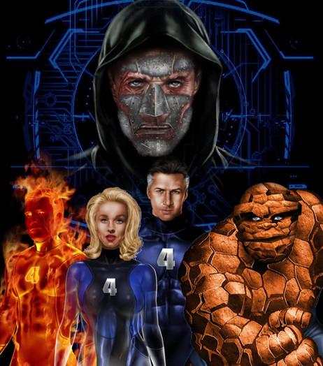Fantastic 4 Motion Poster