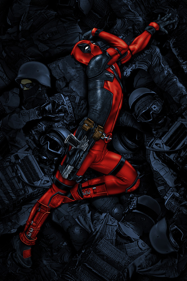 Deadpool Pin UP / 2020