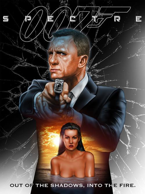James Bond Fan Art Poster /2015