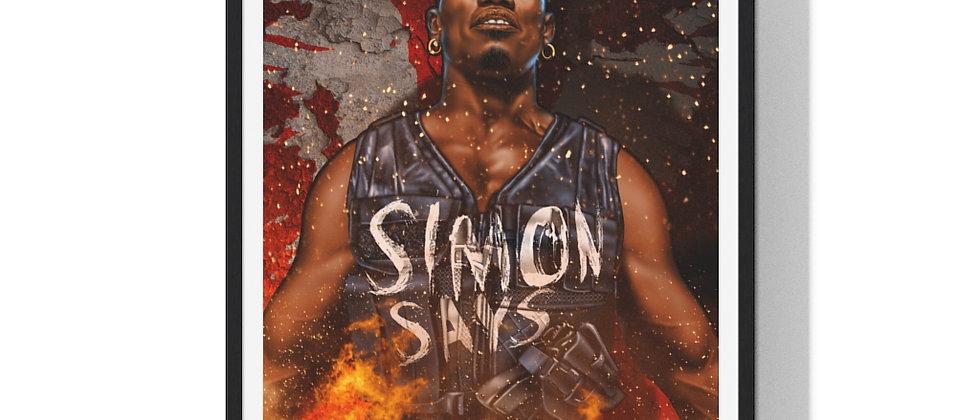 Simon Says /Premium Framed Print
