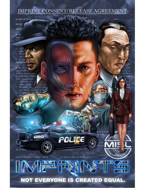 Imprints Conceptual Poster /2011