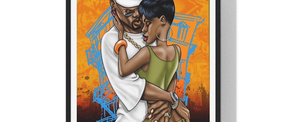 Thug Love /Premium Framed Print