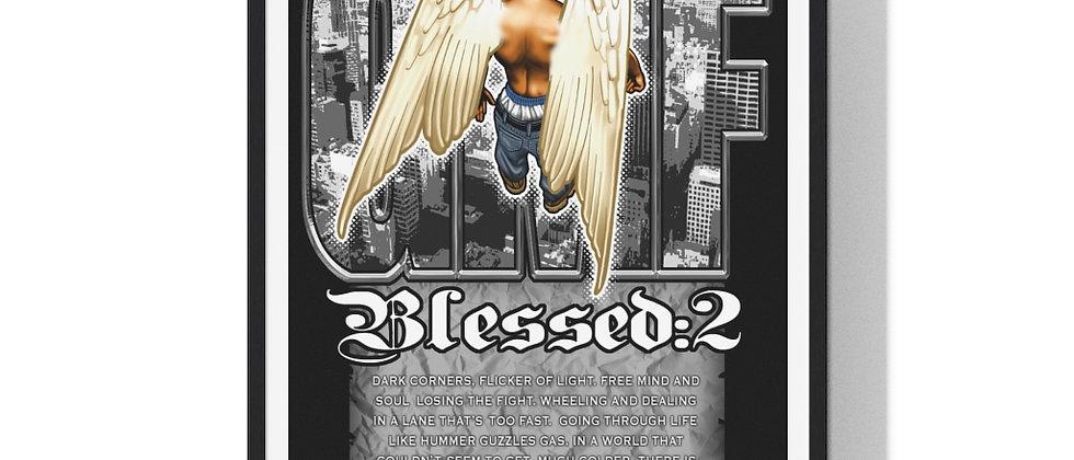 Blessed:2 /Premium Framed Print