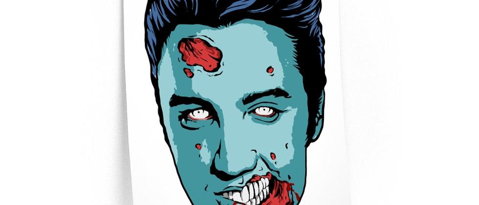 Zombie King /Premium Poster