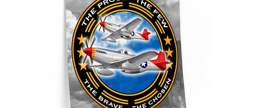 Tuskegee Airmen /Premium Poster