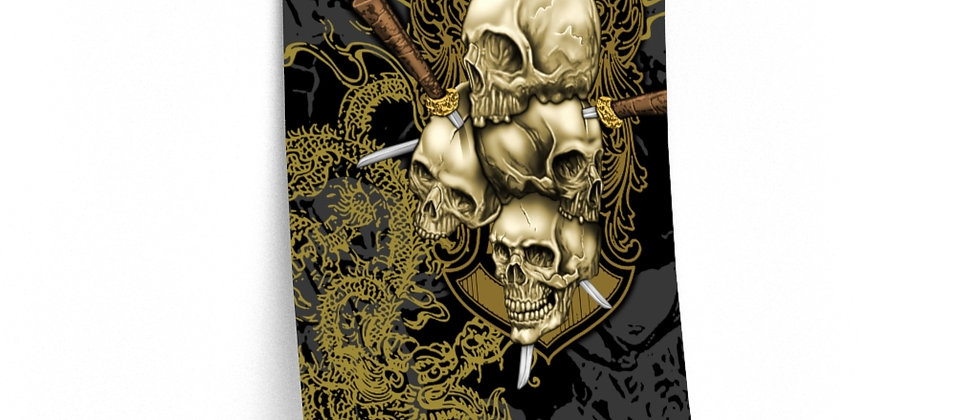 Skull Daggers /Premium Poster