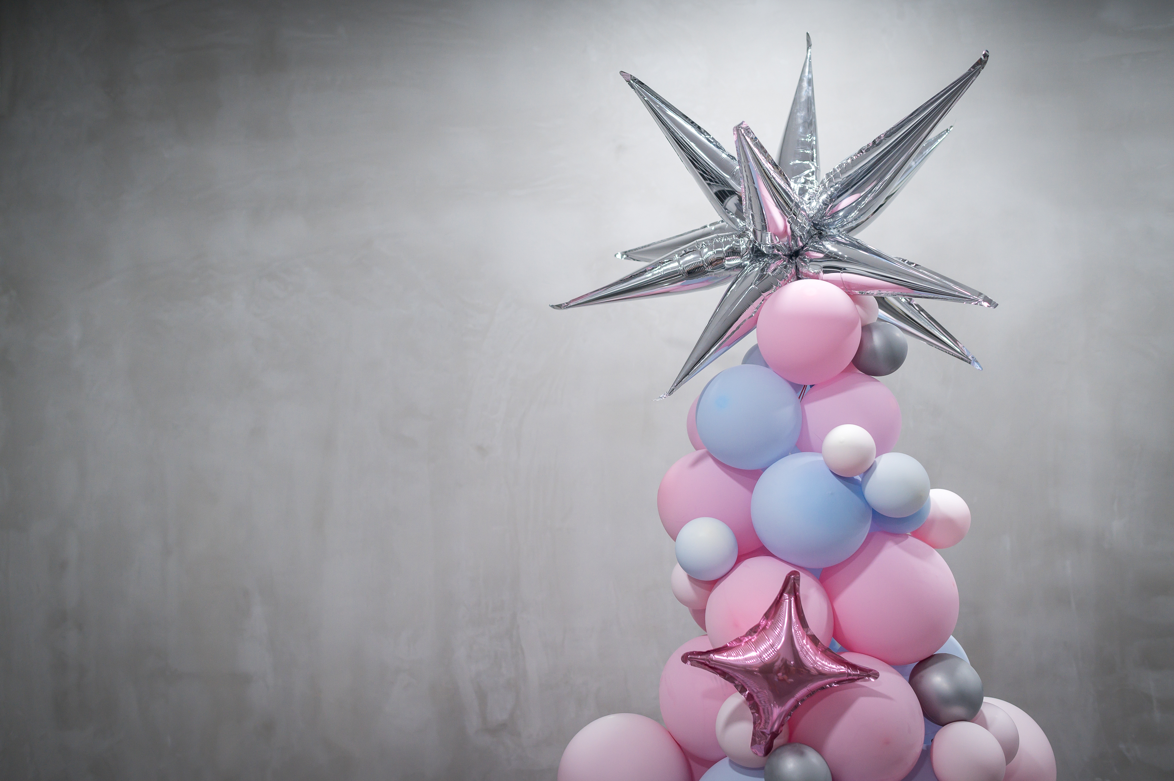 Balloon Xmas Tree