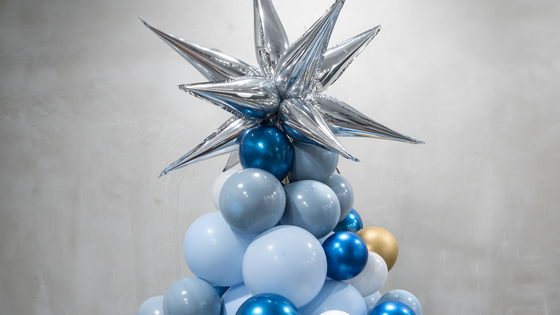 Balloon Christmas Tree