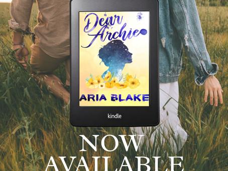 Aria Blake: Dear Archie Book Debut