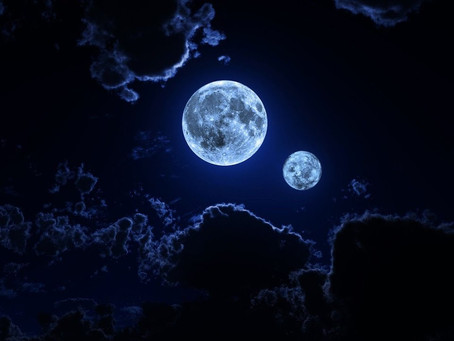 A Tale of Twin Moons