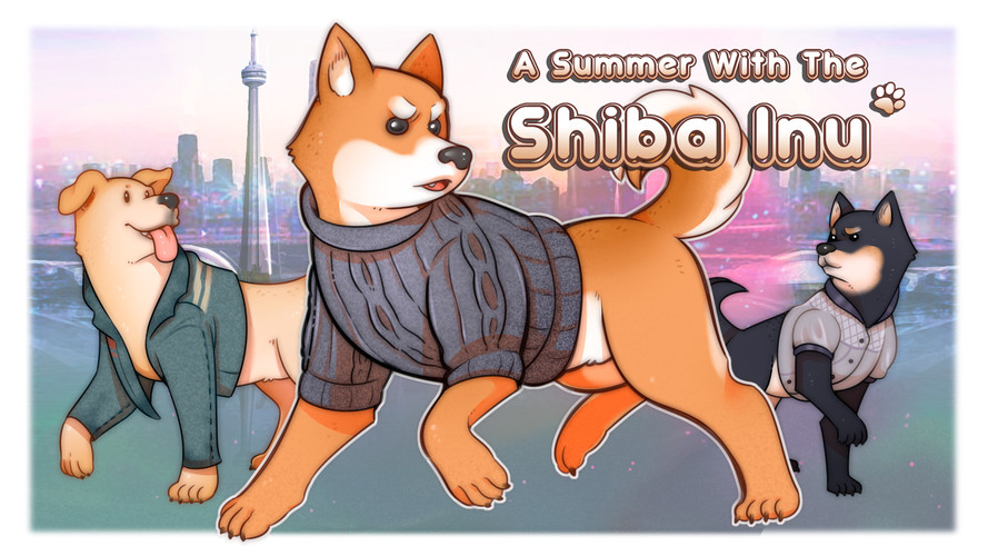 A Summer With the Shiba-Inu