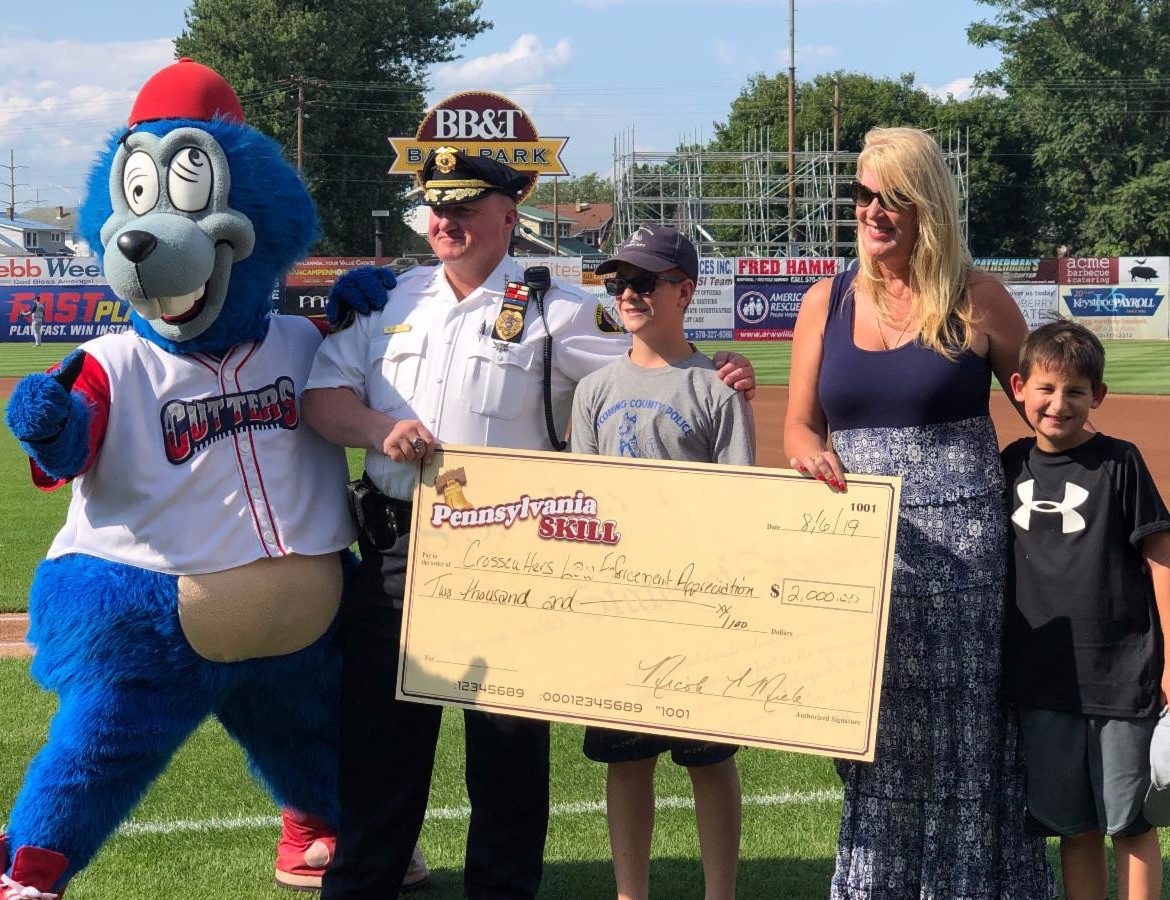 Crosscutters Law Enforcement Appreciation Night