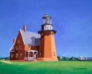 """Block Island Light House"""