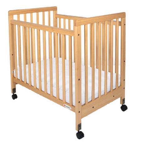 SafetyCraft® Slatted Crib by Foundations