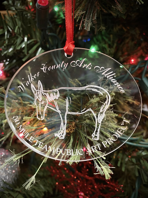 50 Mule Team Christmas Ornament