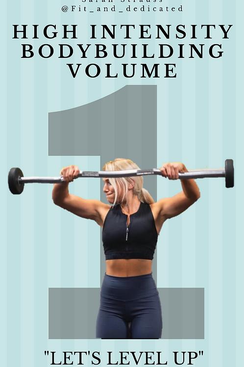 High Intensity Bodybuilding Guide