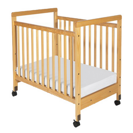 SafetyCraft® Clearview Crib by Foundations