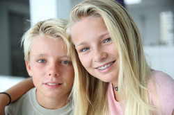 Siblings with Braces