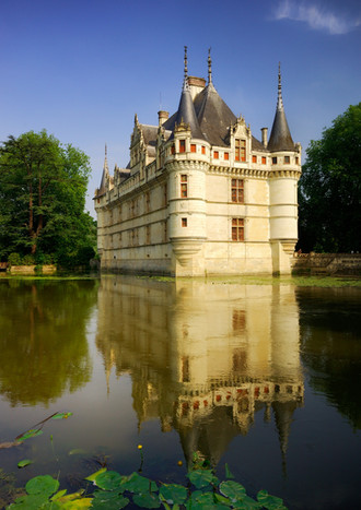 French Castle, Azay le Rideau.