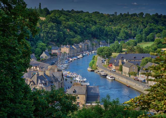 Dinan, Bretagne, France.
