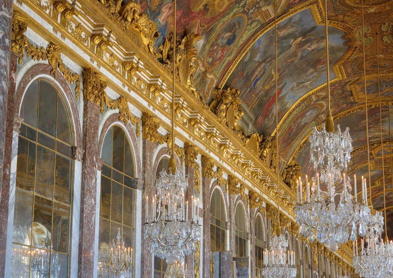 Palais des glaces, Versailles, France.