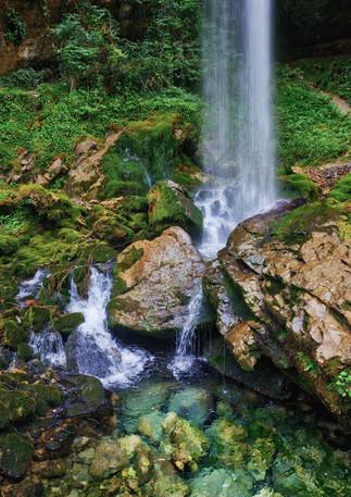 Water Fall, Gorges de Kakuetta, France