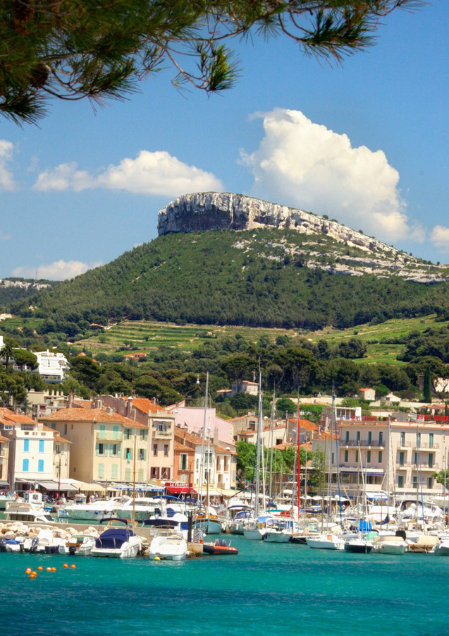 Cassis, Provence, France.