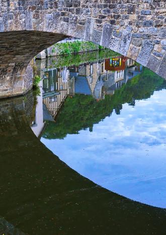 Bridge over the Rance river