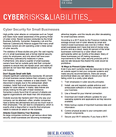 cyber security for small businesses imag