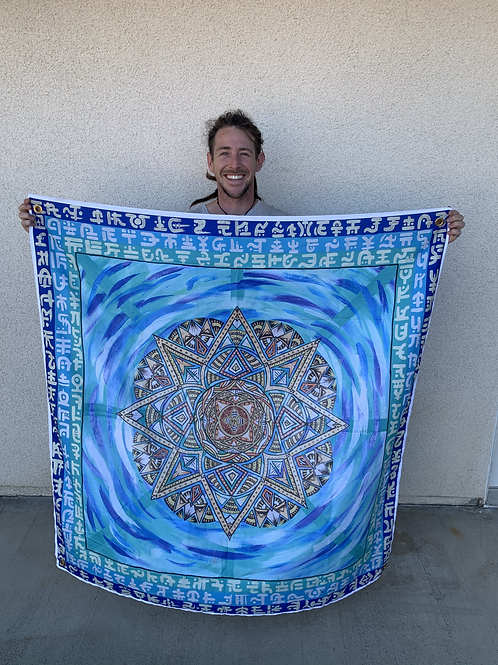 Atlas to Atlantis Tapestry