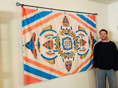Galatic Romance Tapestry
